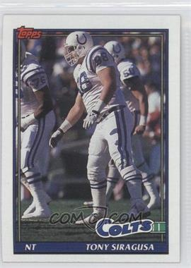 1991 Topps #350 - Tony Siragusa