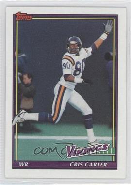 1991 Topps #386 - Cris Carter