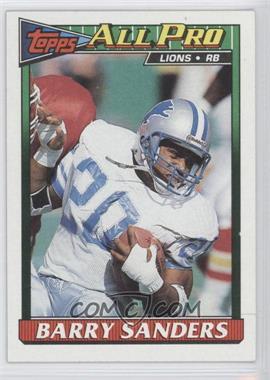 1991 Topps #415 - Barry Sanders
