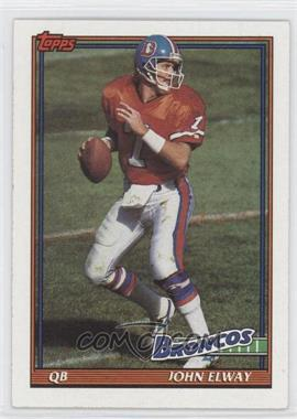 1991 Topps #554 - John Elway