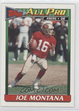 1991 Topps #73 - Joe Montana
