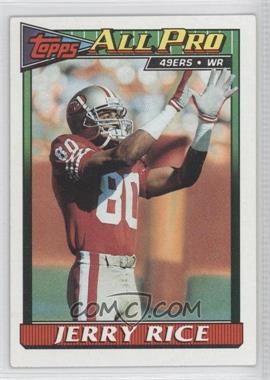 1991 Topps #81 - Jerry Rice