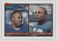 Thurman Thomas, Barry Sanders