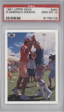 1991 Upper Deck - [Base] #450 - Checklist, Dan Marino [PSA10]