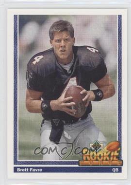 1991 Upper Deck - [Base] #647 - Brett Favre