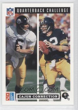 1991 Upper Deck Domino's Pizza Quarterback Challenge #48 - Terry Bradshaw, Bubby Brister