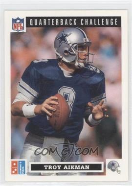 1991 Upper Deck Domino's Pizza Quarterback Challenge #6 - Troy Aikman