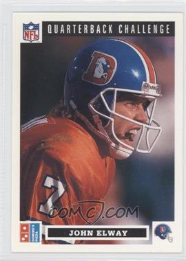1991 Upper Deck Domino's Pizza Quarterback Challenge #7 - John Elway