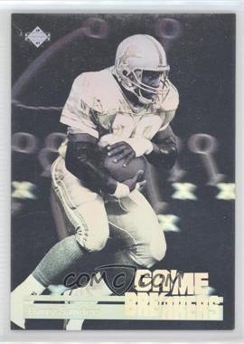1991 Upper Deck Game Breakers #GB1 - Barry Sanders