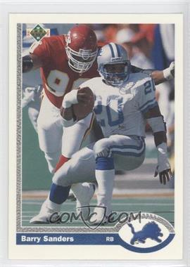 1991 Upper Deck Promo #500 - Barry Sanders
