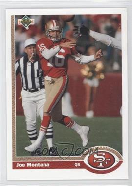 1991 Upper Deck #1 - Joe Montana (Promo)
