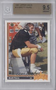 1991 Upper Deck #13 - Brett Favre [BGS9.5]