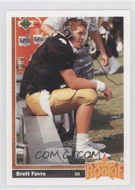 1991 Upper Deck #13 - Brett Favre