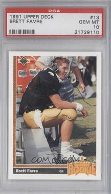 1991 Upper Deck #13 - Brett Favre [PSA10]