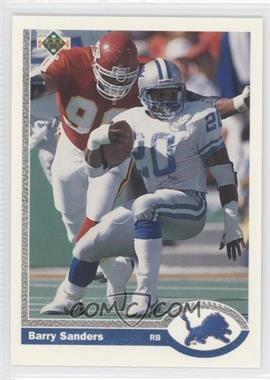 1991 Upper Deck #500 - Barry Sanders
