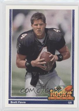 1991 Upper Deck #647 - Brett Favre