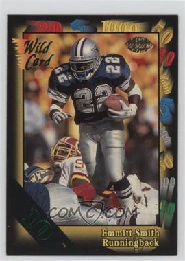 1991 Wild Card 10 Stripe #46 - Emmitt Smith