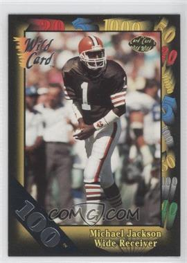 1991 Wild Card 100 Stripe #131 - Michael Jackson