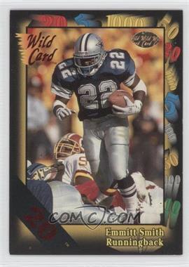 1991 Wild Card 20 Stripe #46 - Emmitt Smith