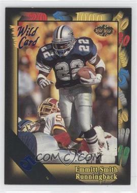 1991 Wild Card 5 Stripe #46 - Emmitt Smith