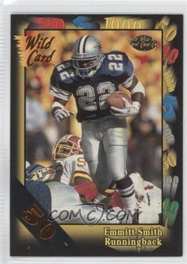 1991 Wild Card 50 Stripe #46 - Emmitt Smith