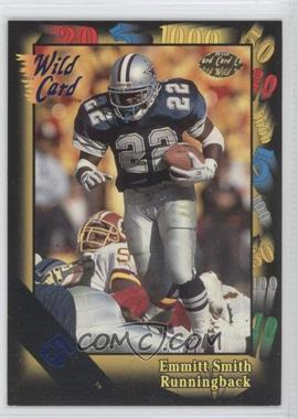 1991 Wild Card Blue 5 #46 - Emmitt Smith