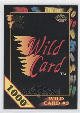 1991 Wild Card Draft - [Base] - 1000 Stripe #22.1 - Wild Card #3