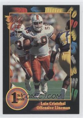1991 Wild Card Draft - [Base] #120 - Luis Cristobal