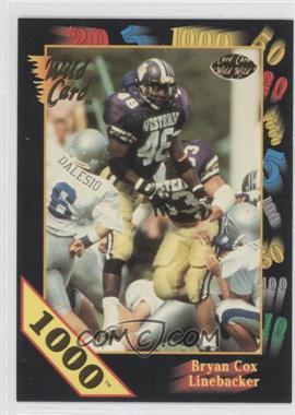 1991 Wild Card Draft 1000 Stripe #115 - Bryan Cox