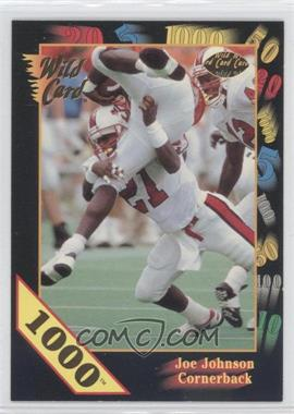 1991 Wild Card Draft 1000 Stripe #155 - Joe Johnson