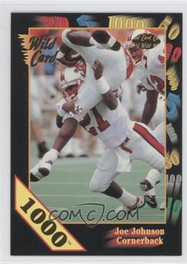 1991 Wild Card Draft 1000 Stripe #155 - [Missing]