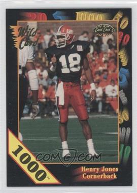 1991 Wild Card Draft 1000 Stripe #20 - Henry Jones