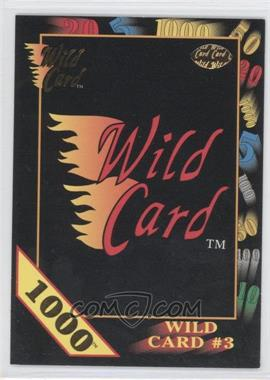 1991 Wild Card Draft 1000 Stripe #22.1 - Wild Card #3