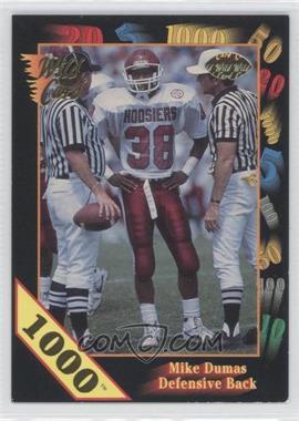 1991 Wild Card Draft 1000 Stripe #65 - Mike Dumas