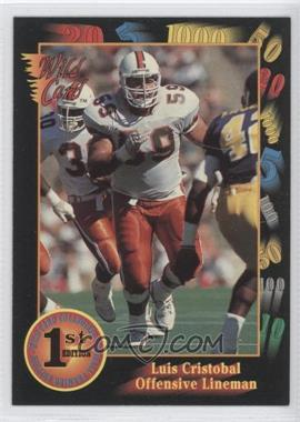 1991 Wild Card Draft #120 - Luis Cristobal