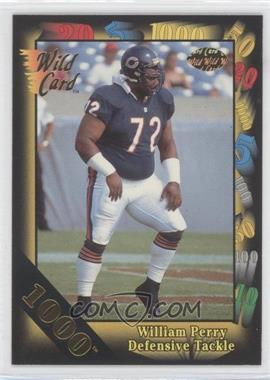 1991 Wild Card Gold 1000 #103 - William Perry