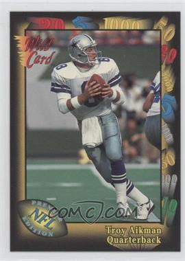 1991 Wild Card Prototypes #1 - Troy Aikman