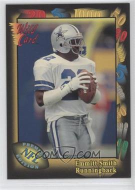 1991 Wild Card Prototypes #4 - Emmitt Smith