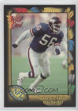 1991 Wild Card Prototypes #6 - Lawrence Taylor