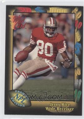 1991 Wild Card Prototypes #Prototype-5 - Jerry Rice