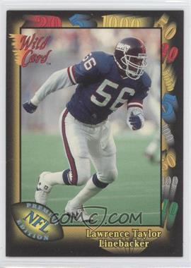 1991 Wild Card Prototypes #Prototype-6 - Lawrence Taylor
