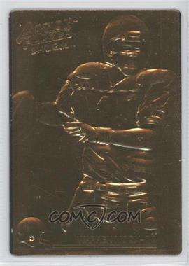 1992 Action Packed - [Base] - 24-Kt. Gold Mint #282 - Warren Moon /500