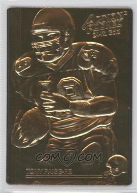 1992 Action Packed 24-Kt. Gold Mint #149 - Tony Paige /500