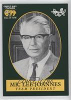 Mr. Lee Joannes