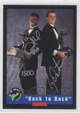 1992 Classic Draft Picks Autographs #DHTD - Desmond Howard, Ty Detmer /1500