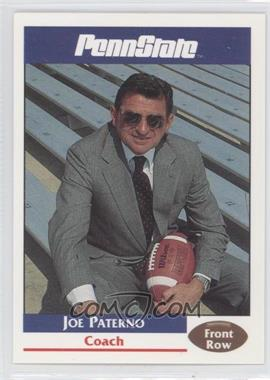 1992 Front Row Penn State Nittany Lions - [Base] #1 - Joe Paterno