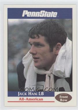 1992 Front Row Penn State Nittany Lions Promos #18 - Jack Ham