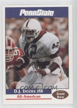 1992 Front Row Penn State Nittany Lions #14 - D.J. Dozier