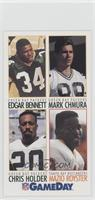 Edgar Bennett, Mark Chmura, Charles Hope