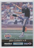 Jeff Jaeger, Jeff Gossett